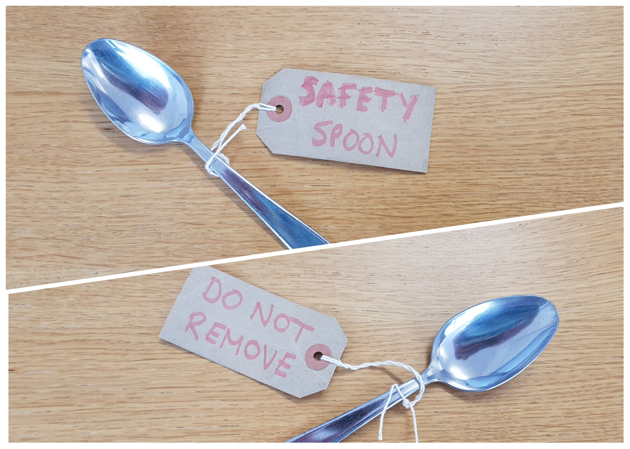 Safety Spoon! Do not remove!