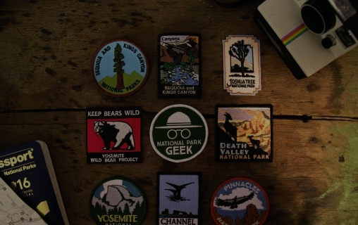 Photo of assorted patches